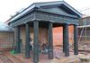 The Aviary Portico - Post restoration, having been cut back by Lord Kelmsley after the second world war.