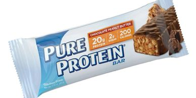 Pure Protein Chocolate Deluxe Protein Bar deliver a quick pick-me-up to help you get through the day