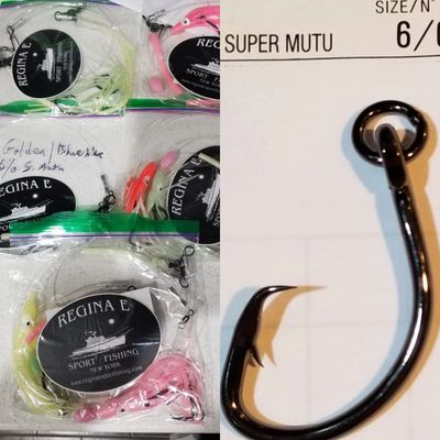 Custom tied Premium Tilefish Rigs $12 each- Contact  me to order them,  included with tile charter.
