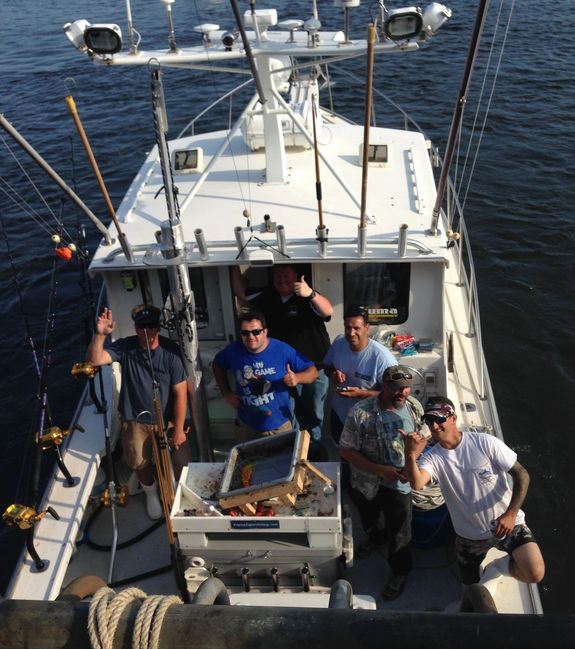 brooklyn charter fishing aboard the regina e. Tournament fishing also available/