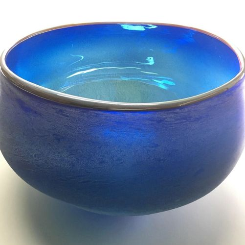 "Azul Creosote Dichotomy Bowl, 18""w x 12""h. Available at Tohono Chul"