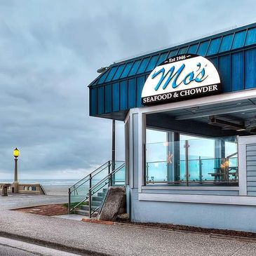Mo's Seafood and Chowder in Seaside, Oregon