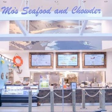 Mo's Seafood and Chowder in the PDX Airport
