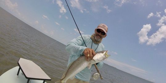 Galveston Bay sea trout