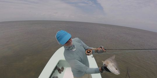 Red drum and the 6 wt Loomis