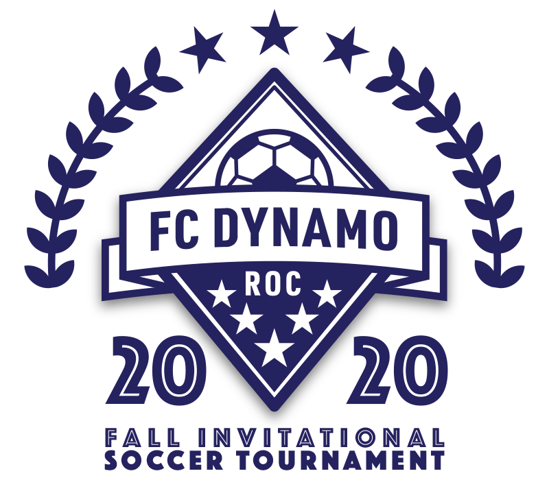 FC DYNAMO ROC 2020 Fall Invitational Soccer Tournament Logo