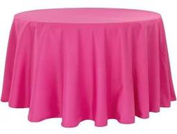 We offer a wide variety of linens in all colors and materials (polyester, satin, lamour, etc.