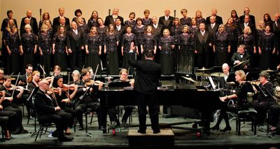 Central Texas Master Singers & Orchestra at the Cultural Activities Center, Temple, Texas
