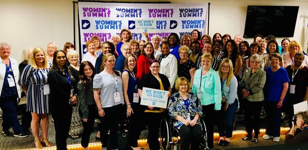 June 8, 2019 WV Democratic Party Women's Summit in Charleston, West Virginia