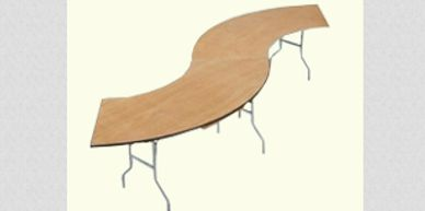 serpertine Extentions tables for rent in orange county