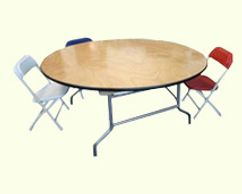 Round kids table for rent in orange county