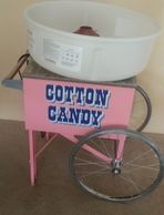 Cotton Candy Machine w/ Cart for rent in Orange County