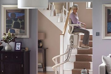 Starla Stairlift - our most customizable stairlift.