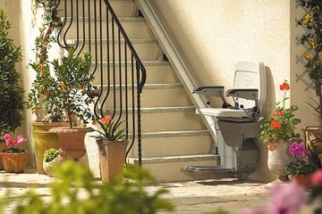 Stannah Outdoor outside stairlift