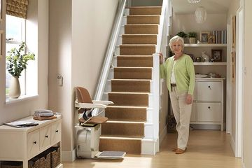 Stannah Scout Stairlift for your straightforward straight staircase.
