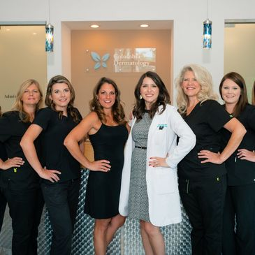 image of the Columbia Dermatology & Aesthetics team