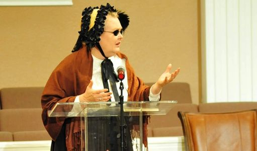 Shelley Hendry as fanny crosby