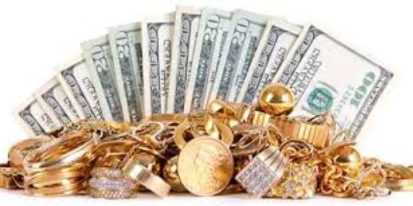CASH and GOLD jewelry