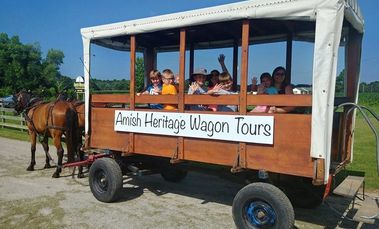 wagon tours, amish wagon tours, amish in tennessee, amish country, amish welcome center, amish tours