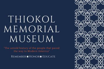 Thiokol Memorial Museum is part of the Thiokol Memorial Project.