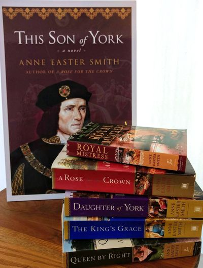 This Son of York (preview), with Anne's previous five books