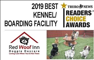 Red Woof Inn, dogs, daycare, boarding, Chamber members, Readers choice, North River, Truro Tatamagouche, dog food, treats, supplements, John Paul Pet grooming supplies.
