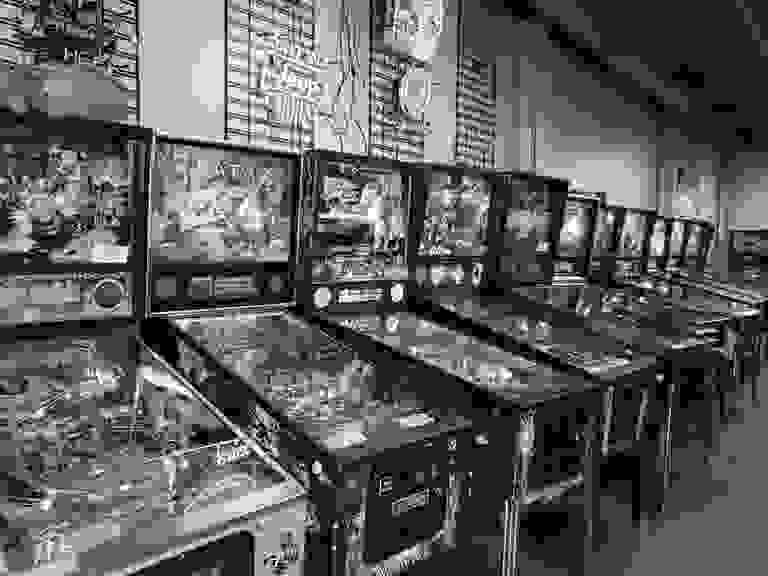 One of the largest pinball showrooms in the Midwest!