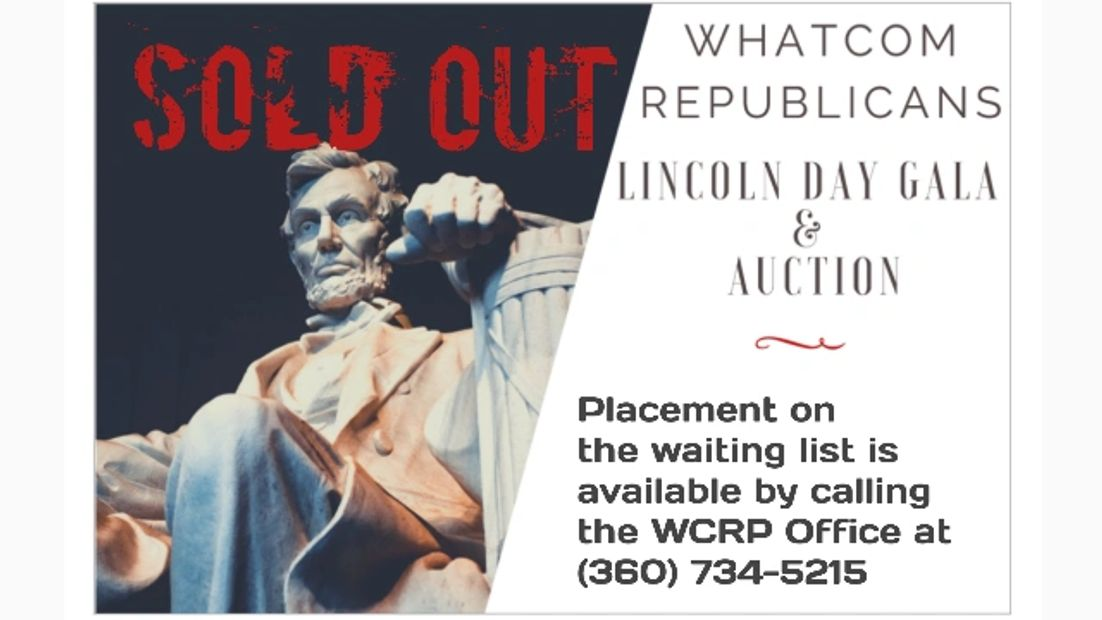 Whatcom Republicans Lincoln Day Dinner