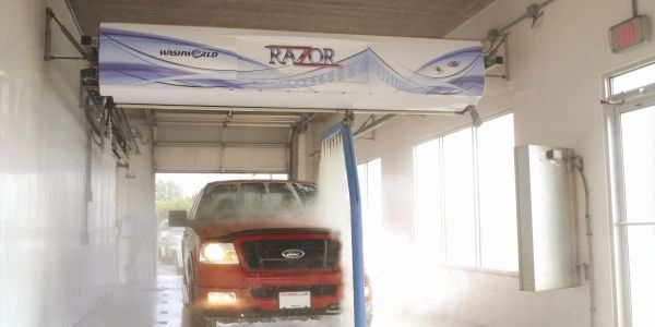 Touchless Touch Free Razor Car Wash
