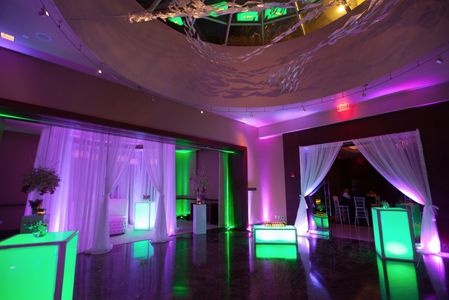 Decor Lighting Room lights Pipe and drape DJ Dancer Disc Jockey Party Green Screen Photo Booth