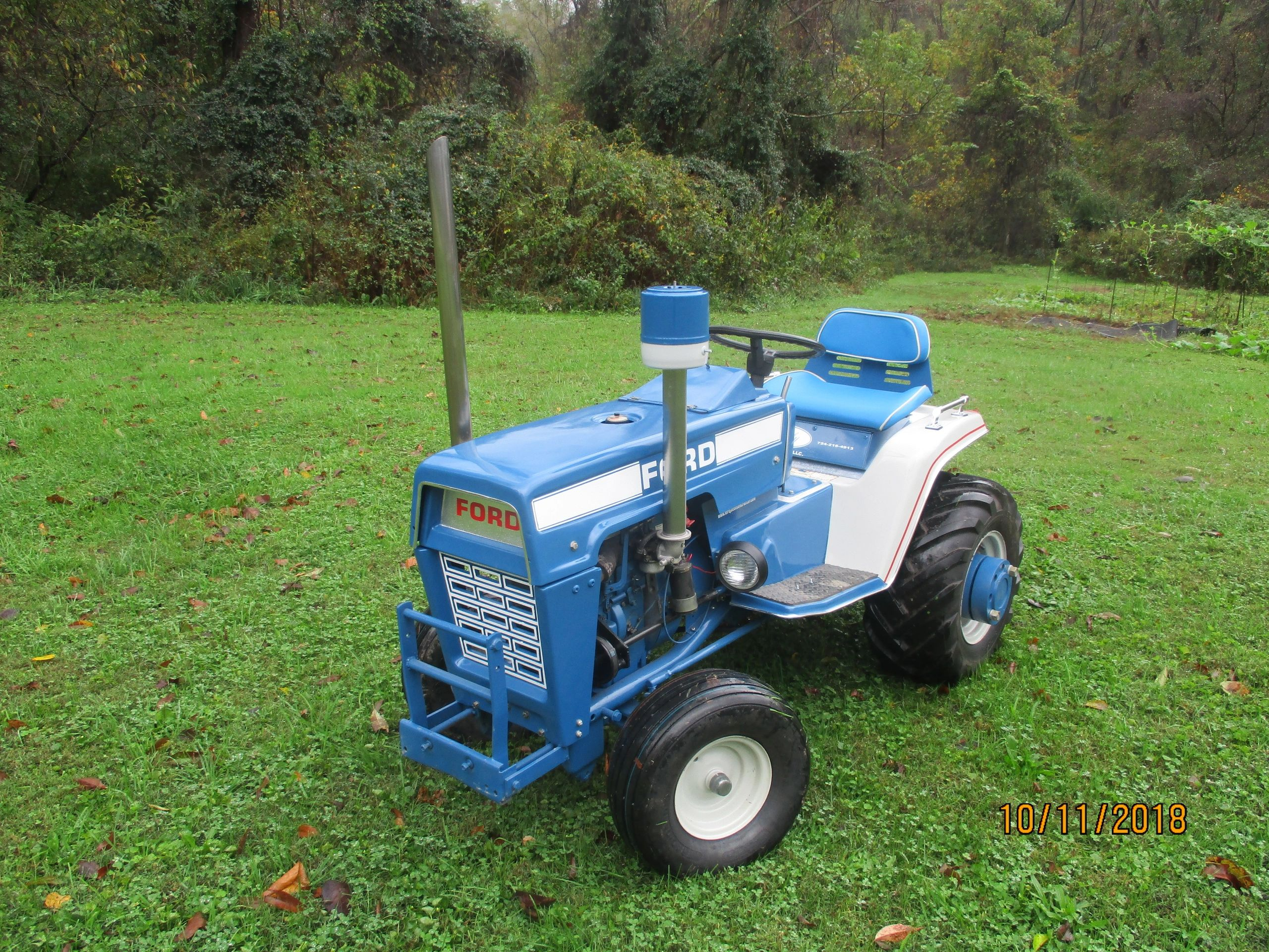 Ford Jacobsencom Diy Electric Tractor Page 3 Of 4