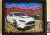 "Aston Martin DB7 (Framed-15""width by 12"" height by 1.5"" thick)"