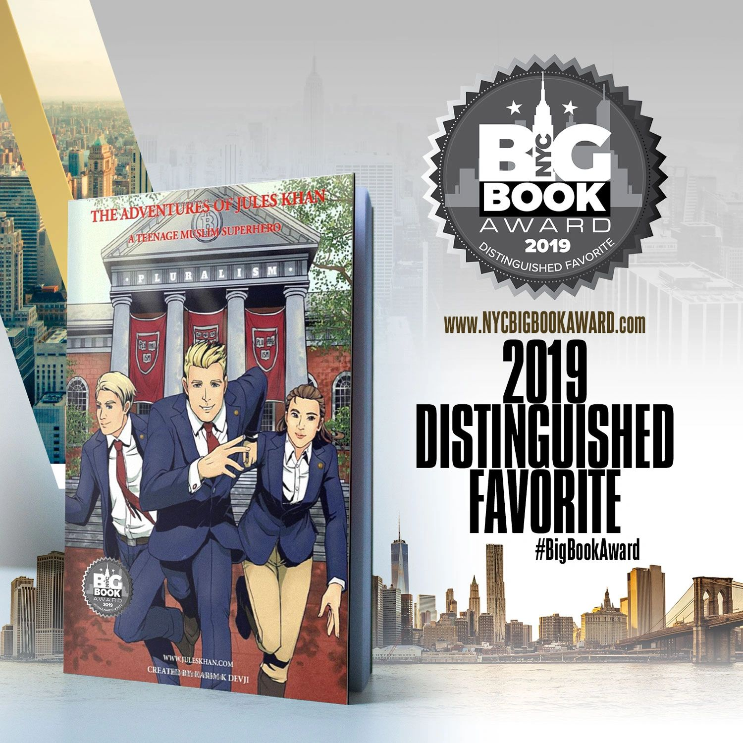 New York City Big Book Awards - Distinguished Favorite Winner 2019 - Young Adult Fiction. Buy a copy