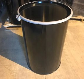 55 Gallon Open Head New Unlined Smooth Sided Steel Drum  - UN1A2/Y1.5/150 - UN1A2/X400/S