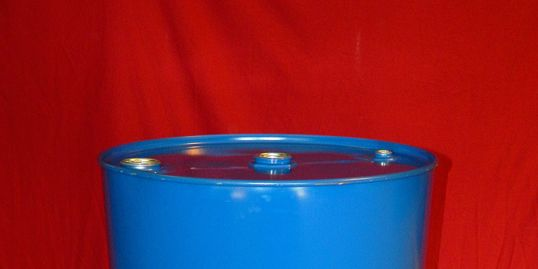"55 Gallon Closed Head New Unlined Steel Drum - NON UN RATED - 2"" x 2"" x 3/4"" Fitted Top"