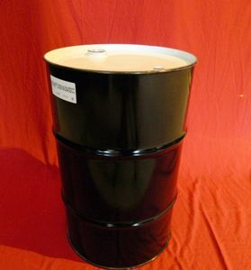 30 GALLON CLOSED HEAD NEW UNLINED UN RATED STEEL DRUM - UN1A1/Y1.5/300