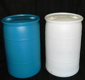 "30 GALLON CLOSED HEAD NEW UN RATED POLY DRUM - UN1H1/Y1.4/150 - UN1H1/Y1.9/150 - 2"" X 2"" FITTED TOP"