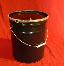 5 GALLON OPE HEAD NEW UN RATED STEEL PAIL - UN1A2/Y36/S - LEVER LOCK CLOSURE - SOLID LID
