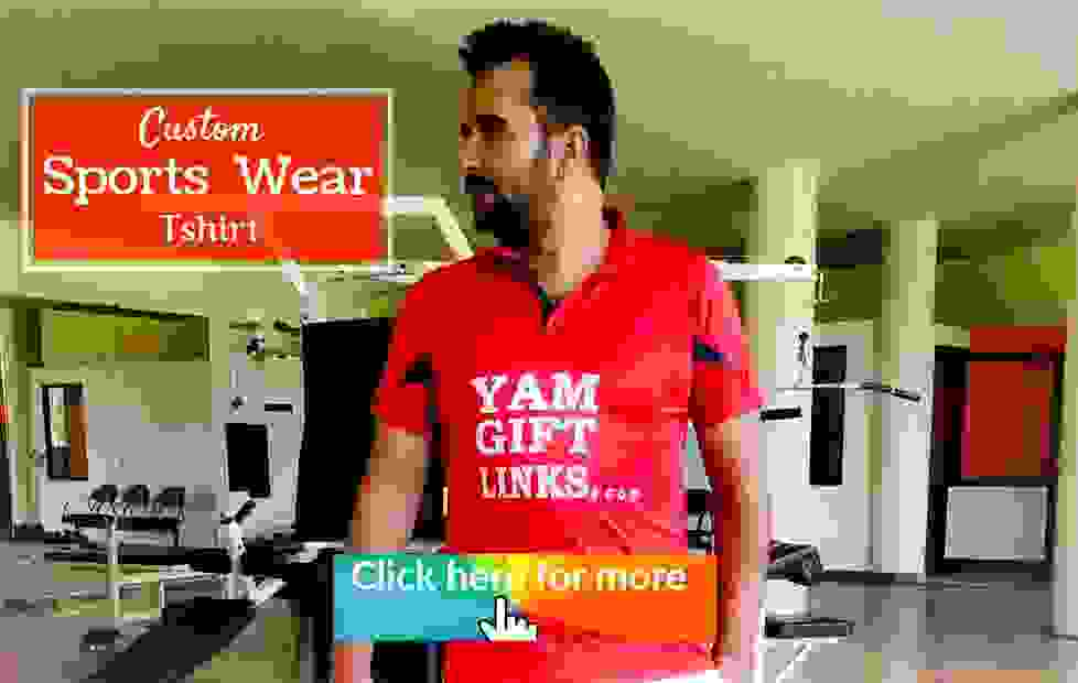 Yam gift links sports wear