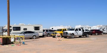 The Pinal Fairgrounds And Event Center Offers RV Tent Camping Conveniently Located Off Of Interstate 10 Between Phoenix Tucson