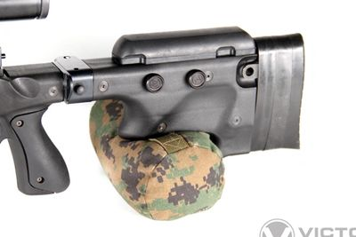 Standard length Grippy Cheekrest for AICS / Accuracy International Chassis System and Rifles