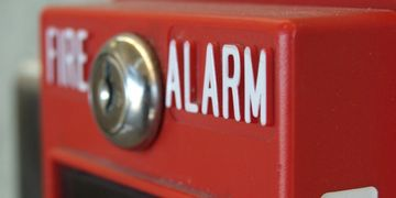 Honeywell Silent Knight commercial fire alarm systems with Telguard cellular fire radio.