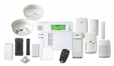 Honeywell security and protection systems.