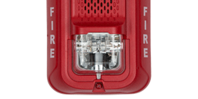 Fire alarm strobe from DictoGuard for fire installation in Fort Collins, CO and beyond.