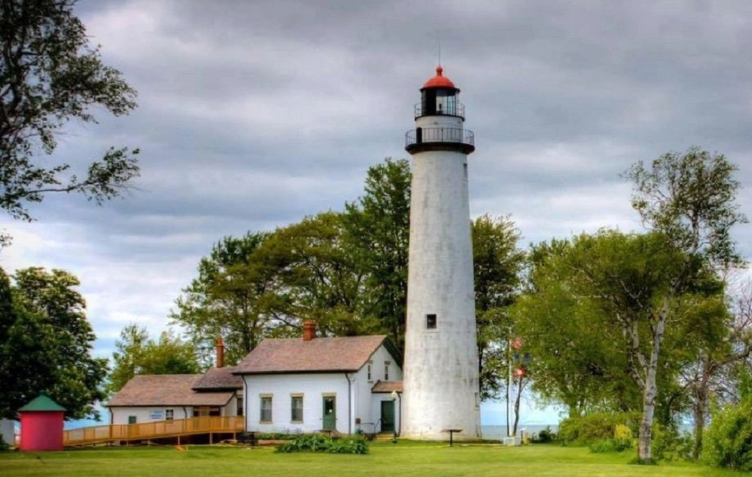 Pointe aux Barques Lighthouse - Lighthouse, Michigan