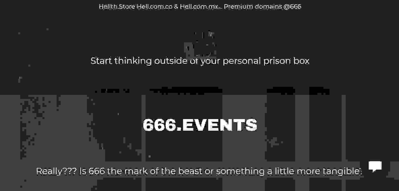 666 events coming to your town now.