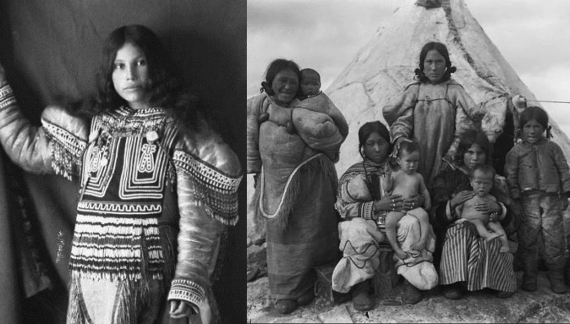 The Inuit Eskimo People, historic photos
