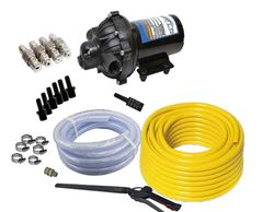12 volt soft wash kits, DIY roof cleaning kits, softwash kit, pressure wash roof cleaning kit