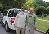 Rolando Rodriguez and I after a float on the Potomac for Smallmouth.