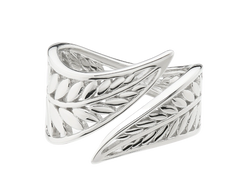 Silver jewelry at Eagle and Pearl Jewelers.
